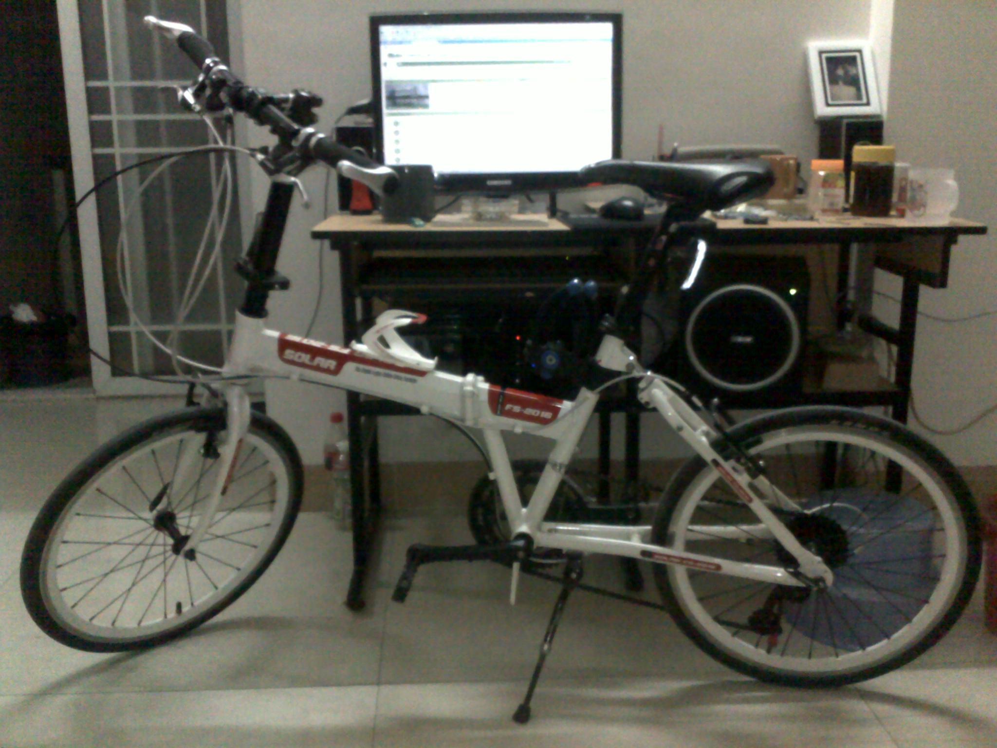 我的代步车车 77bike.com折叠交流网 中国第一折叠自行车高清图片