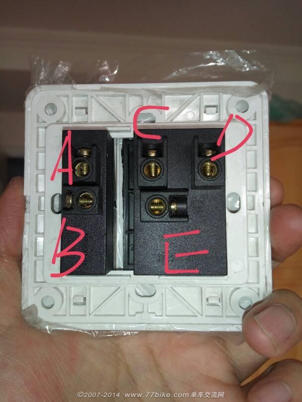求教电插座接线方法!