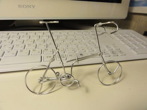 自行车 与 铁丝的艺术